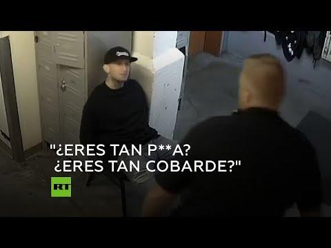 Oficial Noquea A Un Hombre Esposado