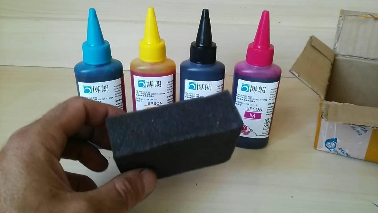 Краска для принтеров своими руками 631