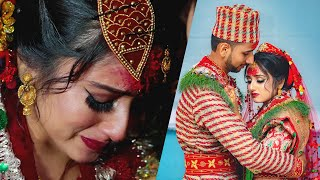 Bhana Bhana Song |  Nepali Traditional Wedding Highlight | Bibek Weds Srijana  | Capture Nepal