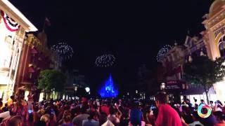 NEW 2016 Disney World 4th of July Fireworks at Magic Kingdom  4K