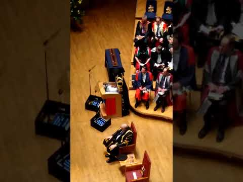 Lenny Henry Opening speech at Birmingham City University graduation.
