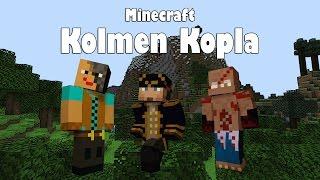 Minecraft: Kolmen kopla | Ep 18 | Järven muokkaamista
