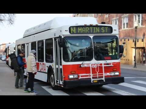 CATA Bus 2000 New Flyer Industries C40LF 86 On Route N