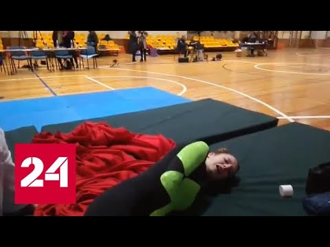 Российская гимнаста может остаться инвалидом из-за плохо организованных соревнований - Россия 24