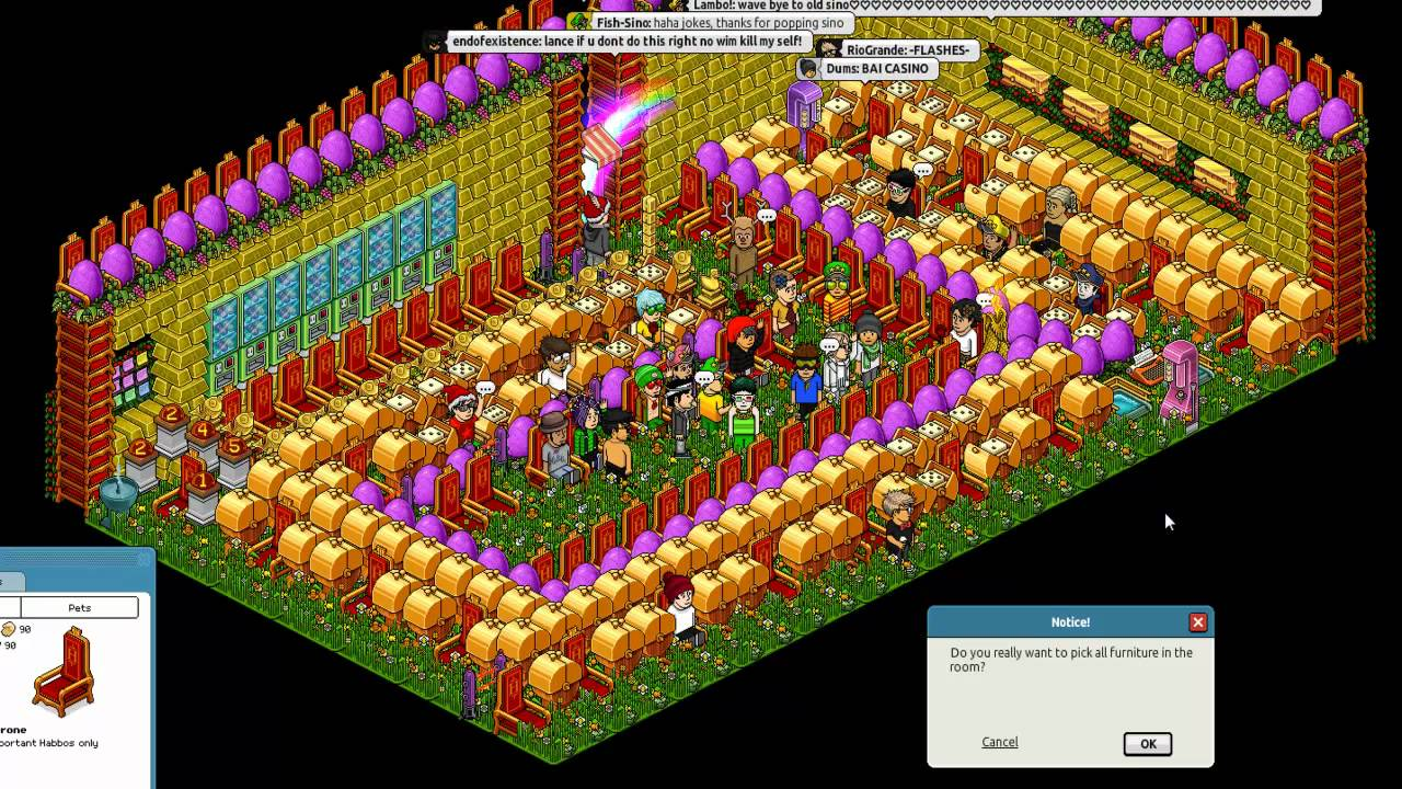 Fish Casino Pick All Habbo Youtube