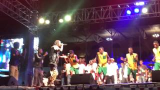 SOUL JAH LOVE at BUSY SIGNAL SHOW, ZIMBABWE