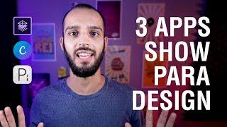 3 APLICATIVOS GRATUITOS PARA FAZER DESIGN
