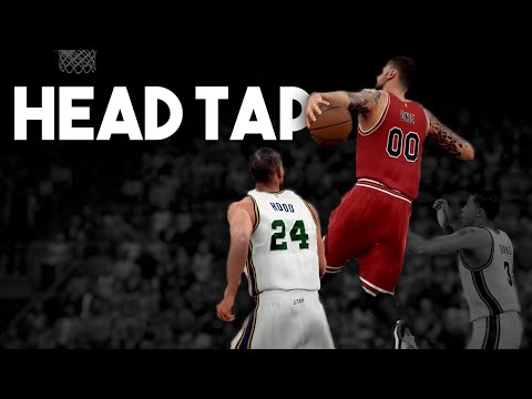 NBA 2K16 My Career Head Tap Dunk!