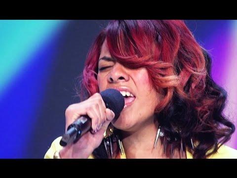 """Dinah Jane Hansen """"If I Were A Boy"""" - Audition - The X Factor USA 2012"""