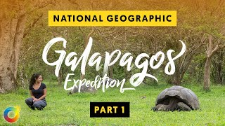 Galapagos Islands National Geographic Expeditions | (Ecuador) Our Awesome Planet Vlog (Part I)