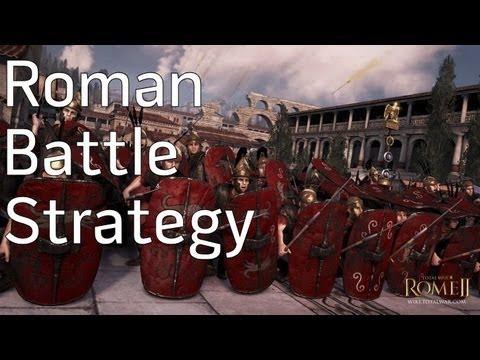 Rome Total War 2 - Roman Battle Strategy - YouTube