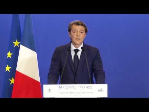 Déclaration de François Baroin - 11 juin 2017