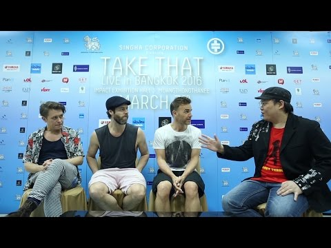 Take That Interview in Bangkok 16' by VERY TV