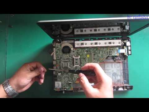 hp 430 431 630 631 Disassembly and Fan Cleaning