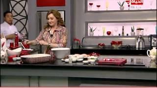 برنامج المطبخ – الشيف آيه حسني – حلقة الخميس 23-4-2015 – Al-matbkh