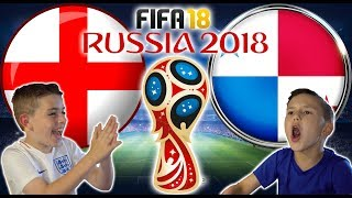 WORLD CUP 2018 | ENGLAND VS PANAMA | FIFA 18 SCORE PREDICTOR!