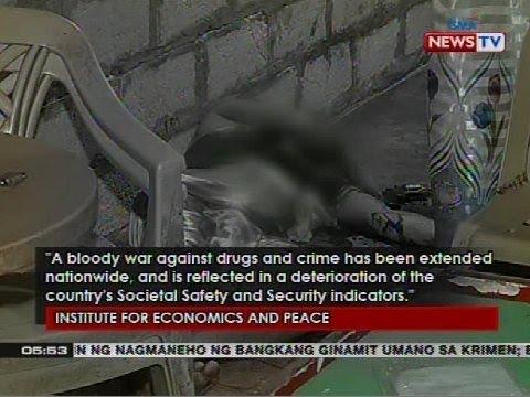 Pilipinas, pangalawa sa listahan ng least peaceful countries sa Asia Pacific Region, ayon sa IEP
