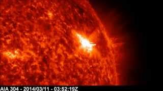 Solar X-ray Event: M3.5 Class Flare | March 11, 2014