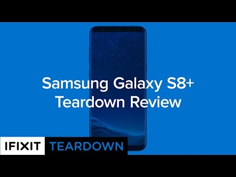 Samsung Galaxy S8+ Teardown!