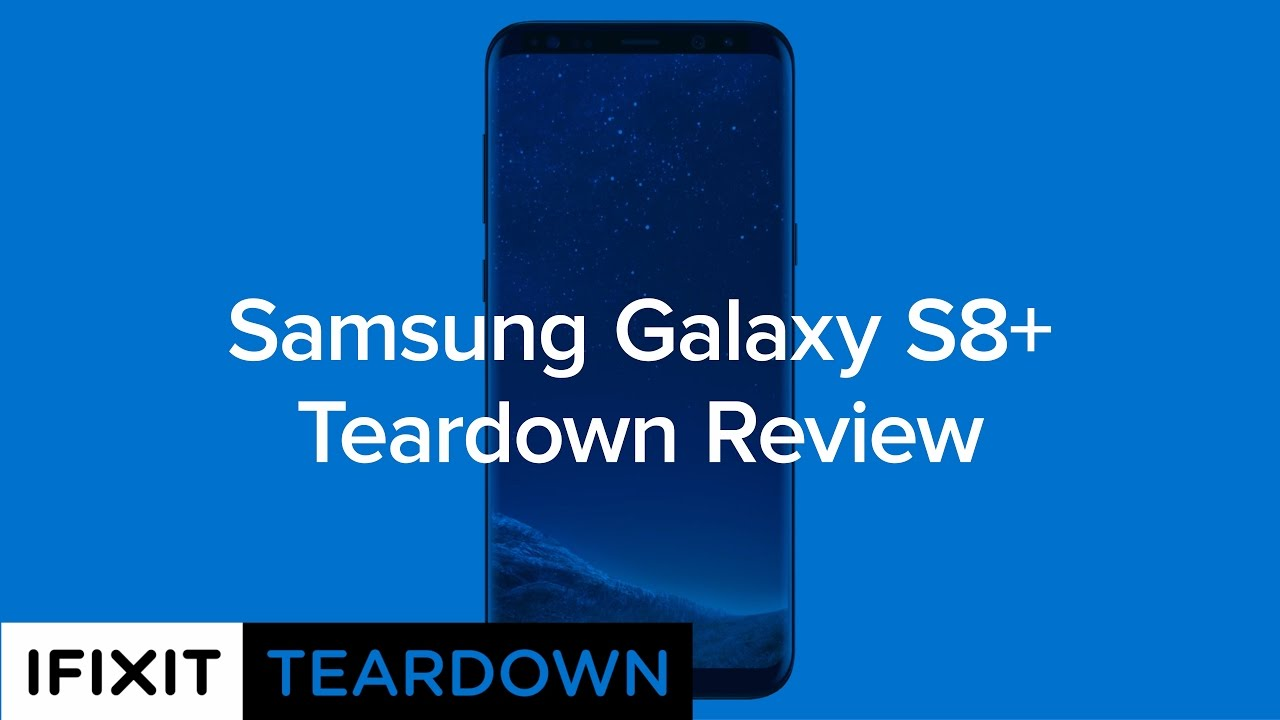 samsung galaxy s8 teardown ifixit