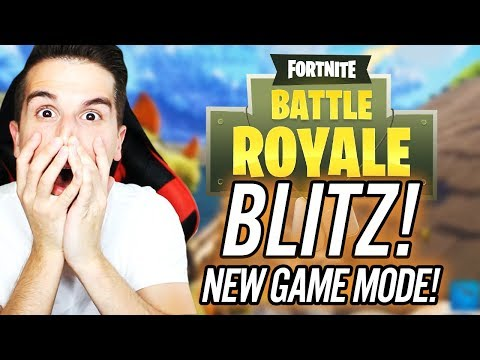 BLITZ!! NEW GAME MODE!!   Fortnite: Battle Royale LIVE (LIVE WIN COUNT: 1)