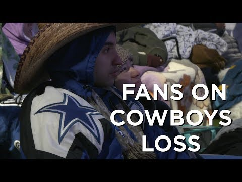 Cowboys fans on the season the Cowboys had after playoff loss