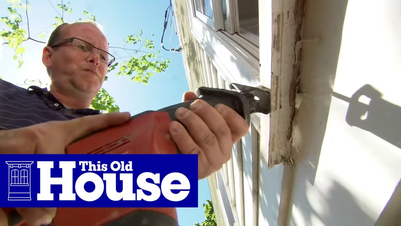 How To Replace A Rotted Windowsill This Old House You