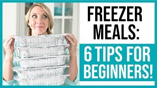 Freezer Meals for Beginners // How To Get Started