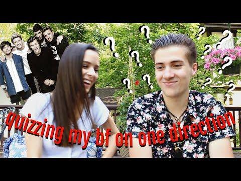 Quizzing My Boyfriend On One Direction..