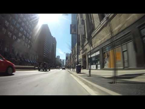 City Cycling - Toronto - Yonge Street Southbound from Midtown