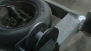 Тіркемеде тасымалдау үшін автомобильдерді Лафет Жаңғырту Шығыр AL KO 900 кг-ТД Тіркеме НН