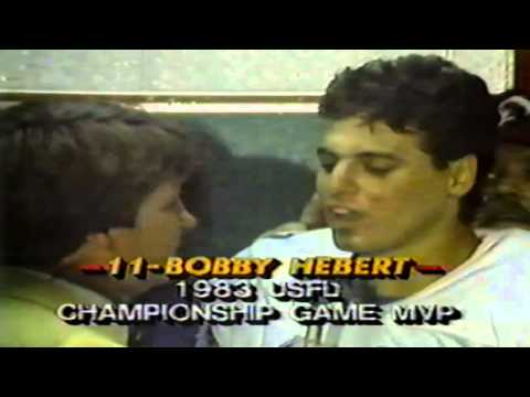 1983 USFL Championship Post Game Celebration Plus More