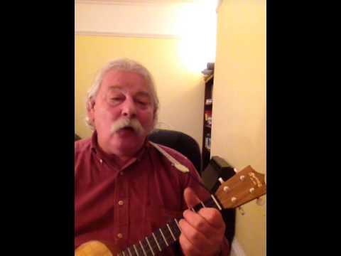 I wish I had a pencil thin mustache. Ukulele cover of the Jimmy Buffett song by Hawaiian Shirt Racer