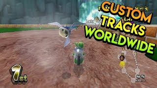 Mario Kart Wii - Custom Tracks Worldwide Races - 10/19/2018 (Part 2)