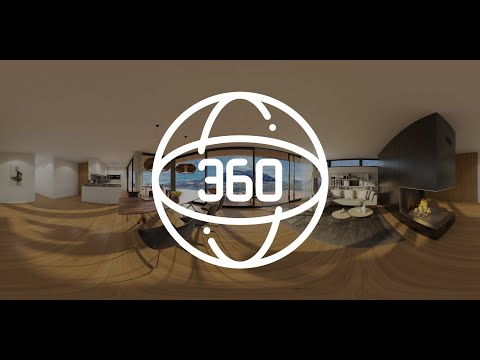 360° Panorama Innenraum | 3D Interaktive Visualisierung Wohnraum | VR Virtual Reality | Virtual Tour