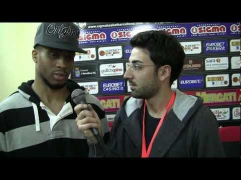 Intervista a Taurean Green dopo Barcellona-Pistoia