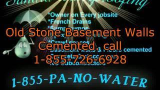 Basement waterproofing Delaware County Pa. wet, damp, flooded,…