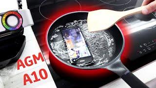 ЖАРИМ на сковороде AGM A10! Обзор недорогого смартфона с армейской защитой и уникальным динамиком