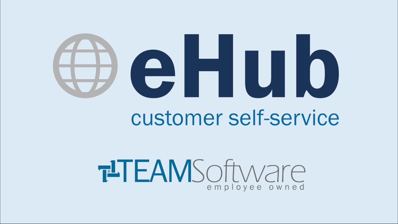 TEAM Software: eHub Customer Self-Service for Building Service and Security  Contractors