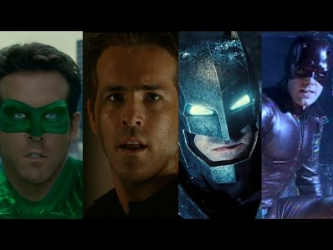 Green Lantern to Deadpool, Daredevil to Batman: 6 Stars Who Played Multiple Superheroes