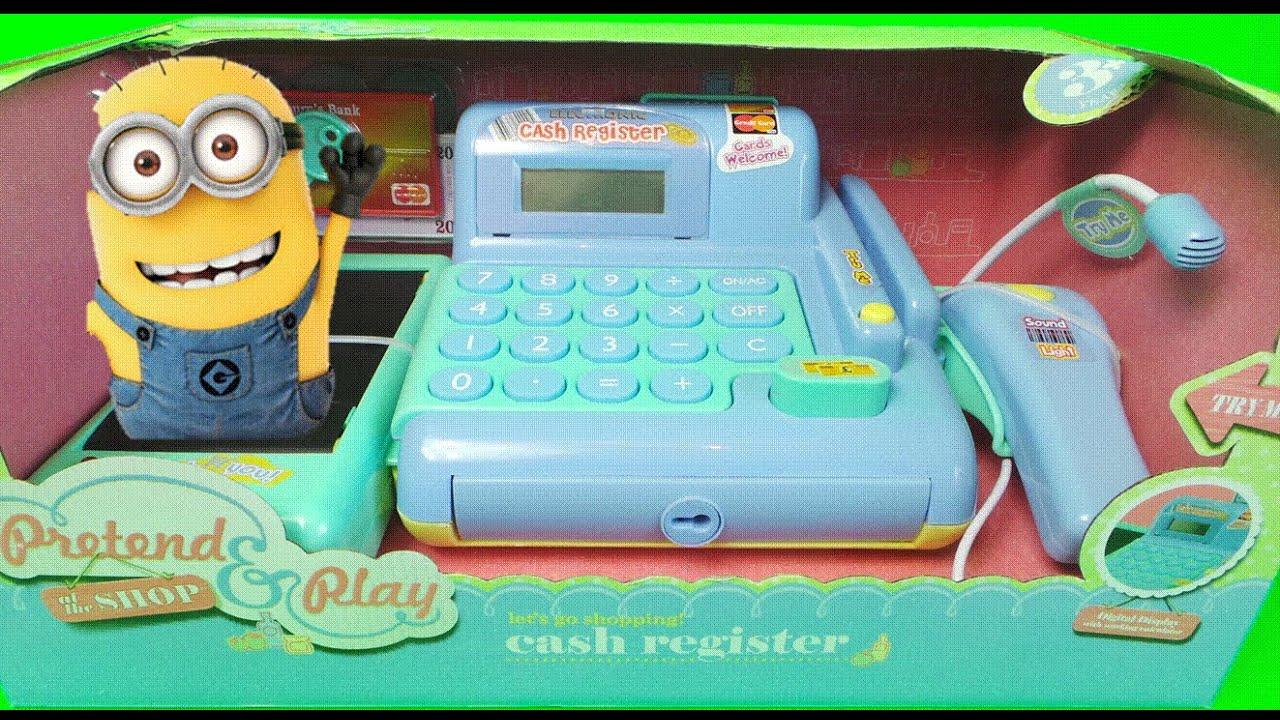 Deluxe Toy Cash Register : Worlds best deluxe toy cash register till scanner set