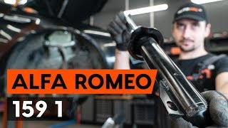 Ako vymeniť Tlmiče perovania na ALFA ROMEO 159 Sportwagon (939) - video sprievodca