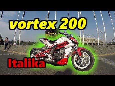 Italika Vortex 200 | review completo en carretera lo mejor de italika