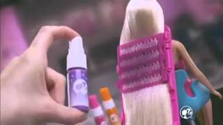 2012 Barbie Color And Design Salon Commercial