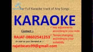 Aji rooth kar Aarzoo karaoke track