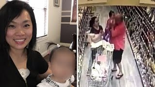 See The Terrifying Moment a Stranger Tried To Grab a Baby at The Supermarket