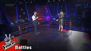 Γιάννης Αδαμόπουλος vs Ντόρις Θεοδωρίδη - Perfect Duet | 2o Battle | The Voice of Greece