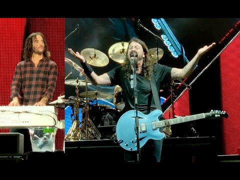 Foo Fighters - Imagine - Jump - April 26, 2018 West Palm Beach Florida