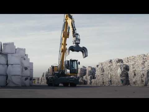 Liebherr- The new LH Material Handlers for Waste Management