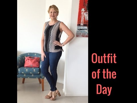 Outfit of the Day - Casual office style - Queensland based